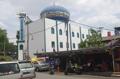 Cidade de Johor Bahru em Malásia Foto de Stock Royalty Free