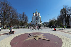 Cidade de Kaliningrad Fotografia de Stock Royalty Free