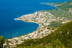 Cidade de Kamena Vourla foto de stock royalty free