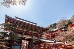 CIDADE DE KASHIMA, SAGA, JAPÃO - 11 DE MARÇO DE 2017: Yutoku Inari é um S Imagens de Stock Royalty Free