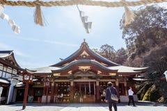 CIDADE DE KASHIMA, SAGA, JAPÃO - 11 DE MARÇO DE 2017: Yutoku Inari é um S Fotografia de Stock
