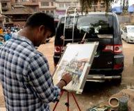 Cidade de Kathmandu, Napel Imagem de Stock