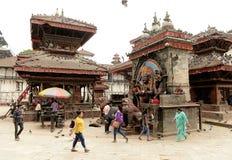 Cidade de Kathmandu, Napel Fotos de Stock