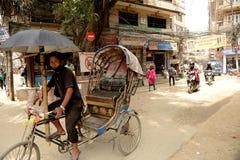 Cidade de Kathmandu, Napel Fotografia de Stock Royalty Free