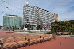 Cidade de Katowice poland Foto de Stock