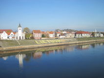 Cidade de Kaunas, Lithuania Fotografia de Stock Royalty Free