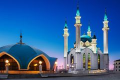 Cidade de Kazan, Rússia imagens de stock