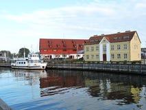 Cidade de Klaipeda, Lithuania Imagem de Stock