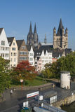 Cidade de Koeln Imagem de Stock