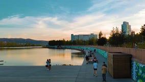 Cidade de Krasnoyarsk Fotos de Stock Royalty Free
