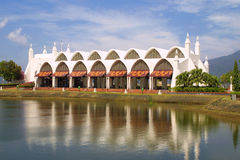 Cidade de Kuah, console de Langkawi, Malaysia Imagens de Stock Royalty Free