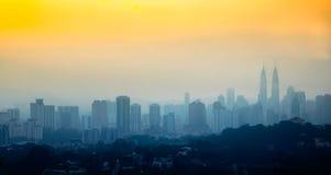 Cidade de Kuala Lumpur Fotos de Stock Royalty Free