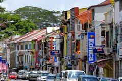 Cidade de Kuching imagens de stock