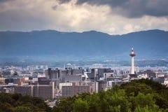 Cidade de Kyoto no verão Imagens de Stock