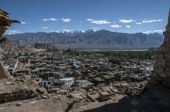 Cidade de Leh Imagem de Stock