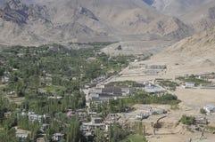 Cidade de Leh do palácio de Leh Imagem de Stock