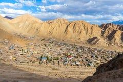 Cidade de Leh Ladakh Fotografia de Stock