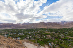 Cidade de Leh Ladakh Imagens de Stock Royalty Free