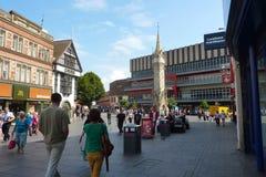 Cidade de Leicester fotos de stock