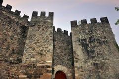 Cidade de Leiria Fotos de Stock Royalty Free