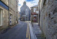 Cidade de Lerwick, Scotland3 Imagem de Stock