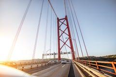 Cidade de Lisboa em Portugal Fotografia de Stock Royalty Free
