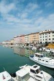 Cidade de Livorno, Itália Foto de Stock Royalty Free