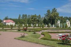 A cidade de Lomonosov, palácio de Menshikov Imagens de Stock
