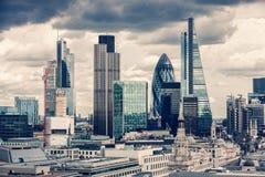 A cidade de Londres Foto de Stock Royalty Free