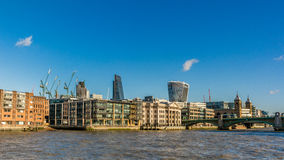 Cidade de Londres Foto de Stock Royalty Free