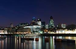 Cidade de Londres Imagens de Stock Royalty Free