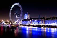 Cidade de Londres com olho de Londres Fotos de Stock
