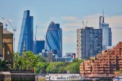 A cidade de Londres - skyline Foto de Stock