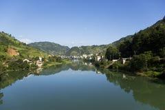 Cidade de Longsheng, Guilin, China foto de stock