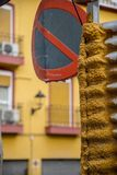 Cidade de Lorca, Múrcia, Espanha Imagens de Stock Royalty Free