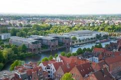 Cidade de Lubeque Alemanha Fotografia de Stock