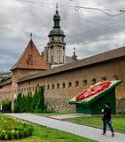 A cidade de Lviv Fotografia de Stock Royalty Free