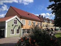 Cidade de Mönsterås 3 fotos de stock royalty free
