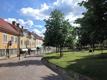 Cidade de Mönsterås Foto de Stock Royalty Free
