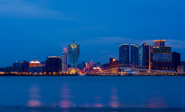 Cidade de Macau Imagem de Stock