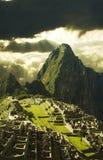 Cidade de Machu-Picchu em Peru Imagens de Stock