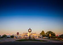 Cidade de Mackinaw Imagem de Stock Royalty Free