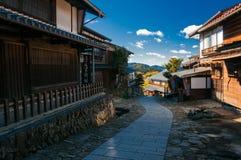 Cidade de Magome, Japão imagens de stock royalty free