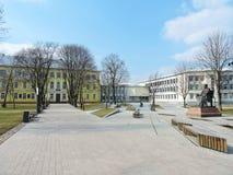 Cidade de Marijampole, Lituânia imagens de stock royalty free