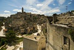 Cidade de Matera Foto de Stock