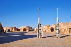 Cidade de Matmata em Tunísia Imagem de Stock