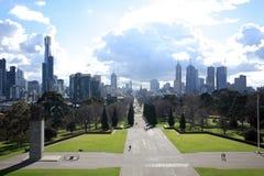 Cidade de Melbourne Fotografia de Stock Royalty Free