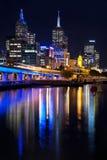 Cidade de Melbourne Imagem de Stock Royalty Free