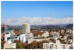 Cidade de Mendoza foto de stock royalty free