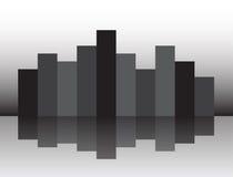 Cidade de Mignight Imagens de Stock
